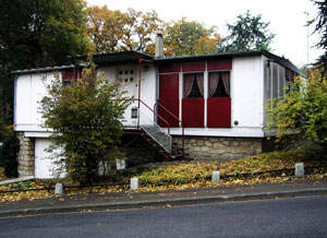 ムードンの住宅