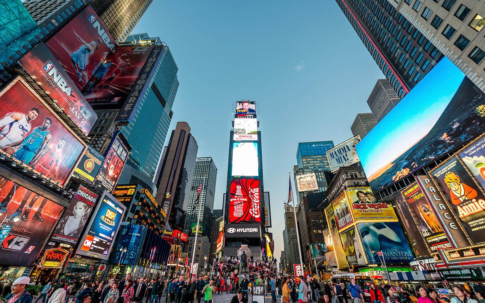 BIDの例:ニューヨークタイムズスクエア